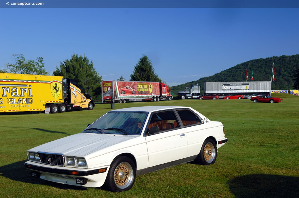 Bmw Of Concord >> 1984 Maserati BiTurbo Image. Chassis number ZAML1105EB318039