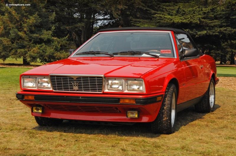 1987 Maserati BiTurbo chis information.