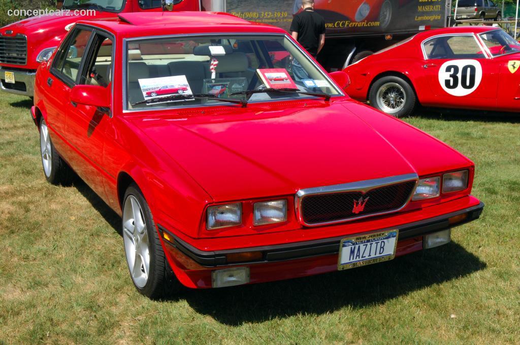 Maserati Mc12 Stradale >> 1990 Maserati 430 Image. Chassis number ZAMBN1200LB328939