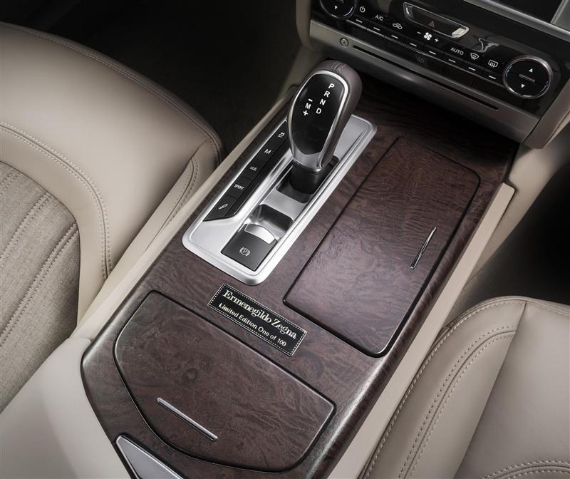 2013 Maserati Quattroporte Ermenegildo Zegna Limited Edition Concept