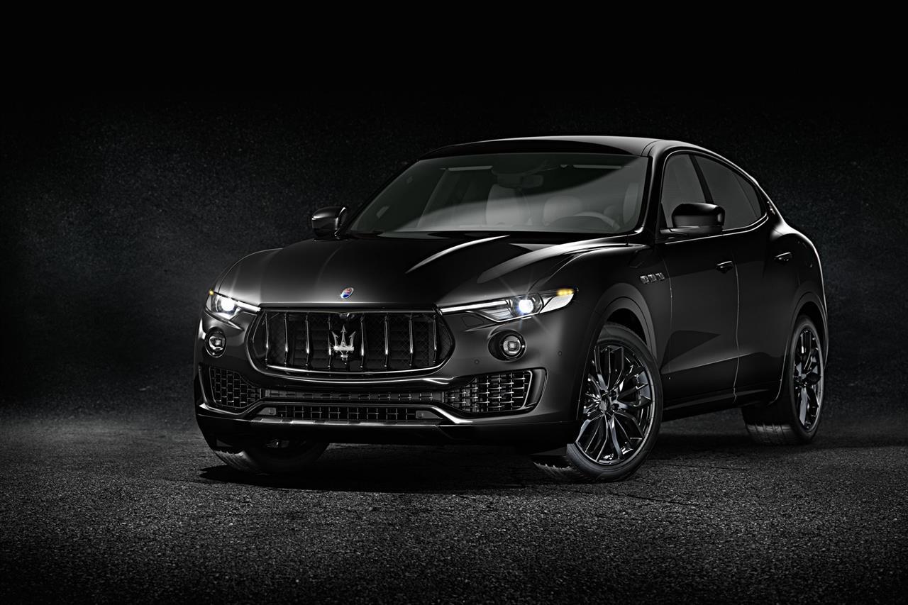 2018 Maserati Levante Nerissimo Edition