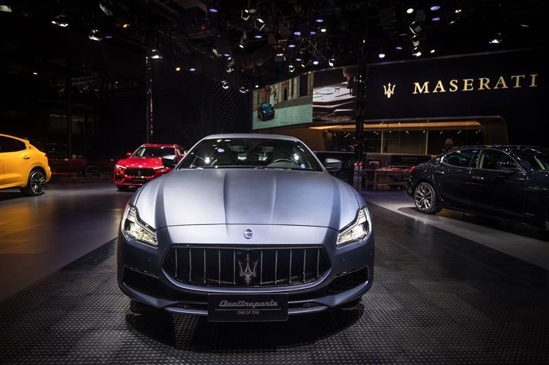2019 Maserati Quattroporte GranLusso News and Information
