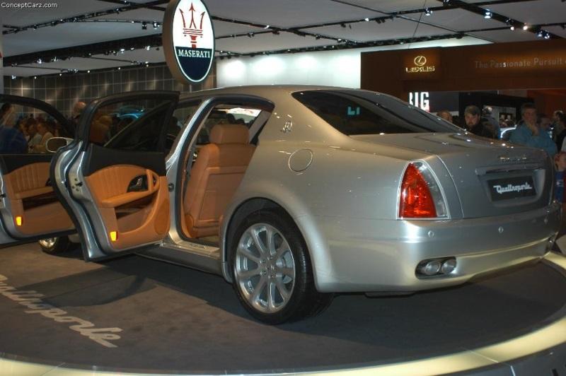 2004 Maserati Quattroporte History Pictures Value Auction Sales