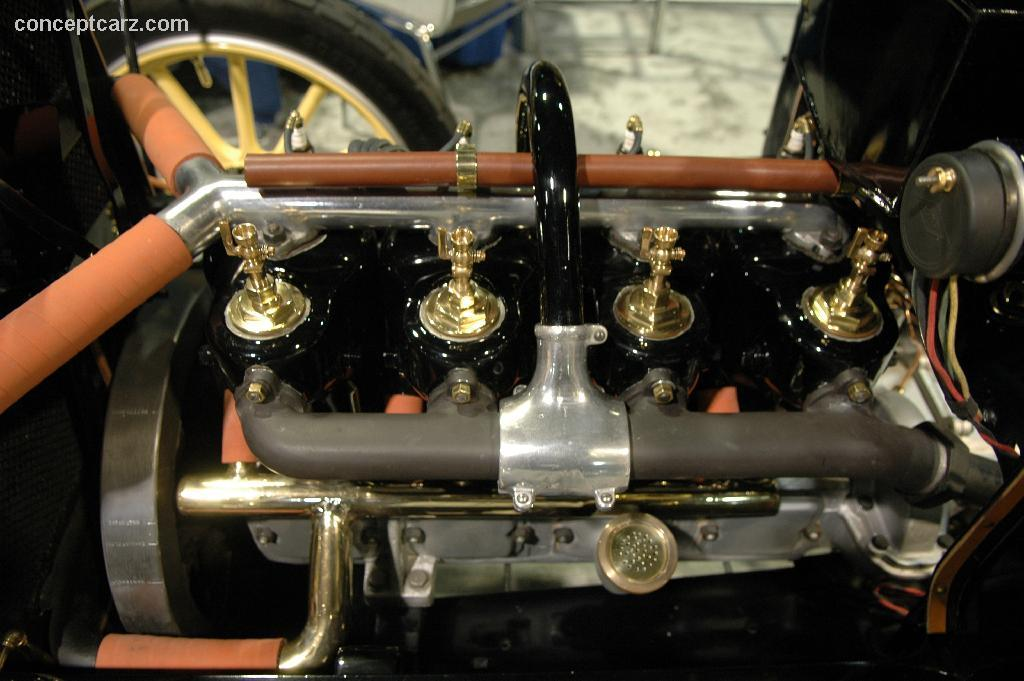 1910 Maxwell Model E Image Chassis Number 3918