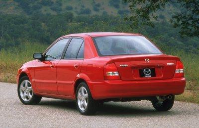 Mazda Protege Red Manu on 1999 Dodge Truck