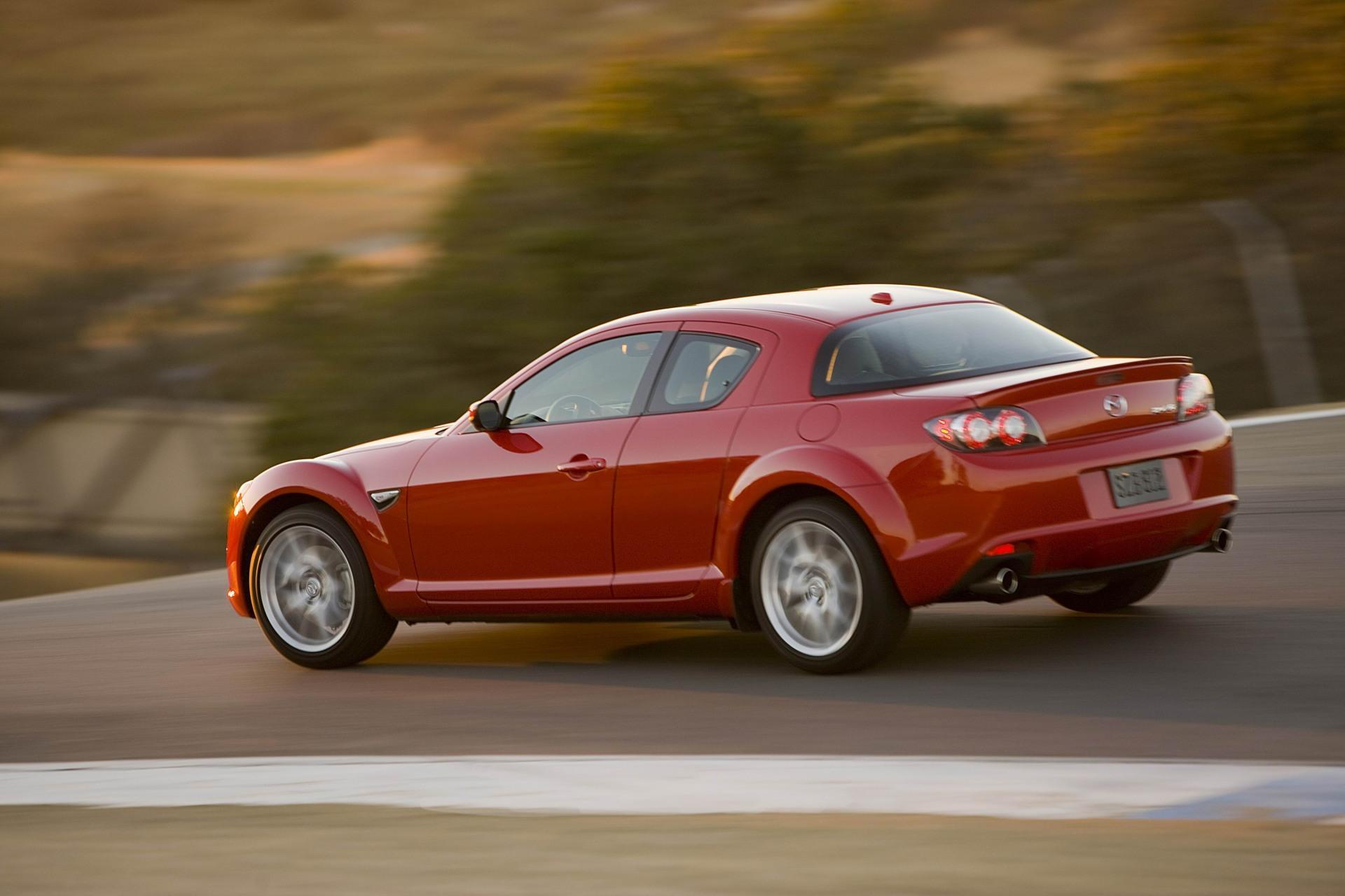 Mazda RX-8 электромобиль скачать