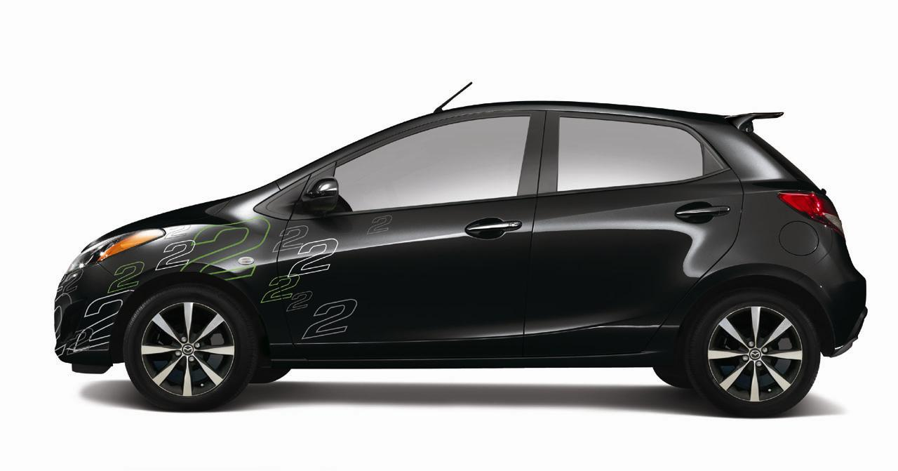 2011 mazda 2 yozora edition news and information. Black Bedroom Furniture Sets. Home Design Ideas