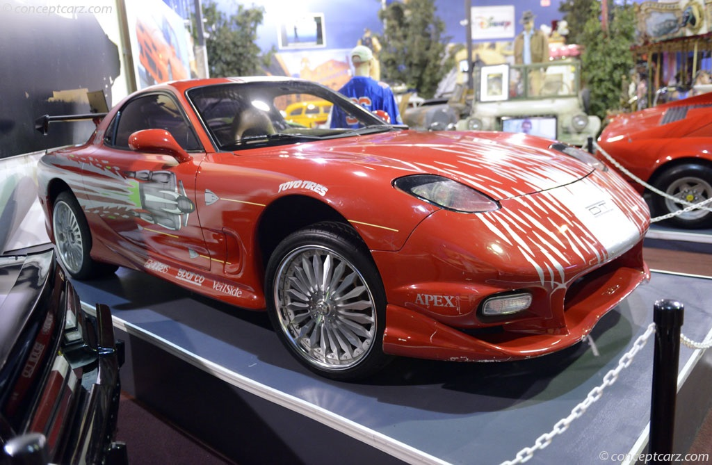 Auction Results and Sales Data for 1993 Mazda RX-7