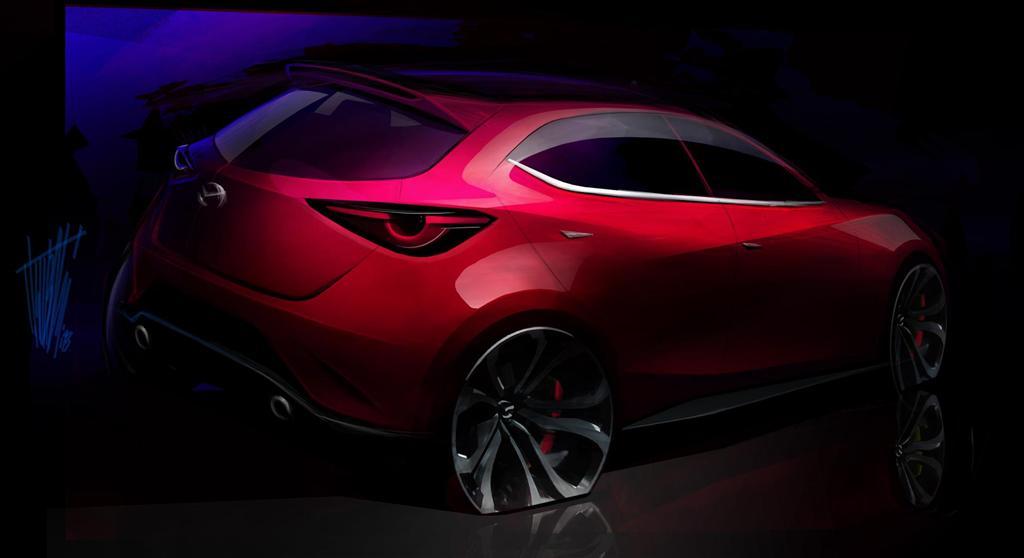2014 Mazda Hazumi Concept Image. Photo 12 of 15
