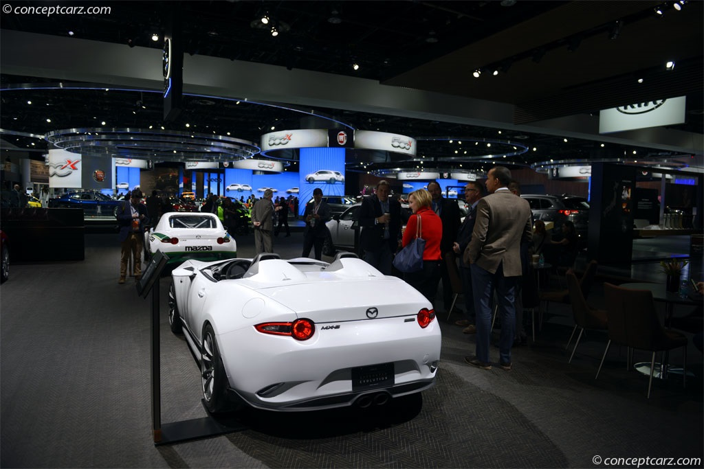 Auction Results and Sales Data for 2016 Mazda MX-5 Speedster Evolution