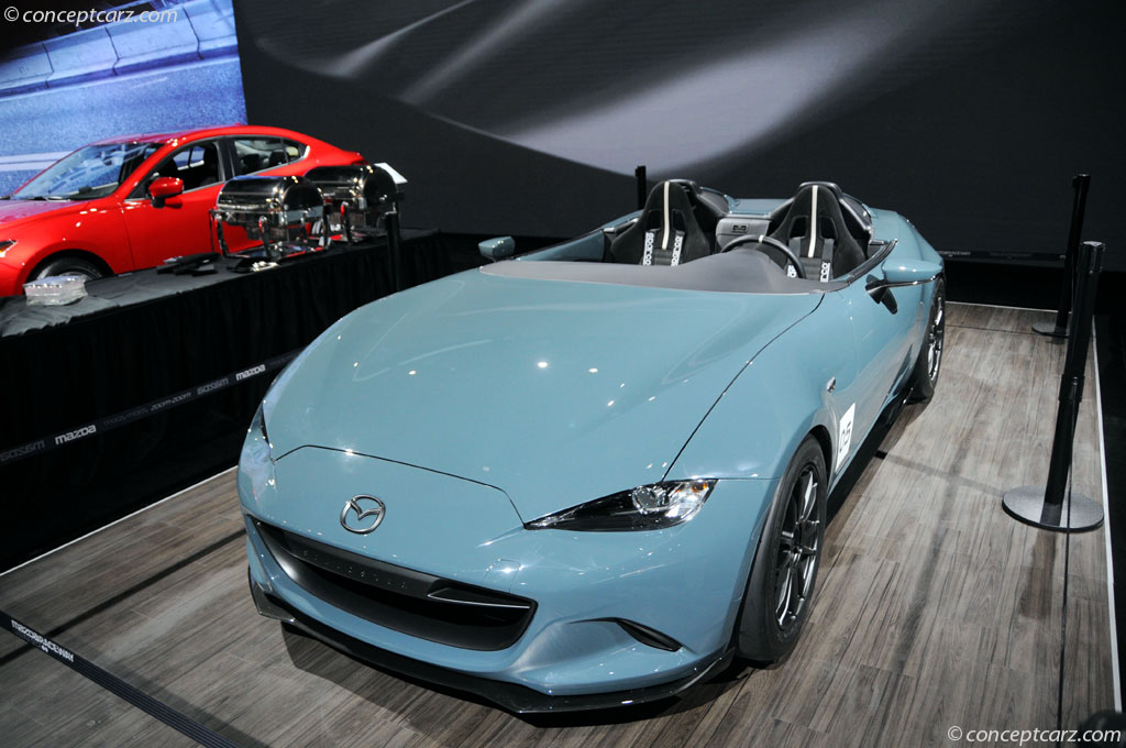 Auction Results and Sales Data for 2015 Mazda MX-5 Speedster ...