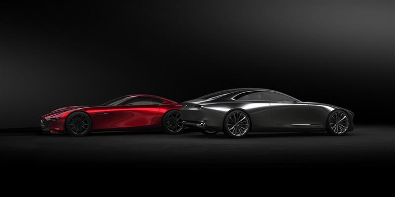 Mazda Vision Coupe Concept Pictures And Wallpaper