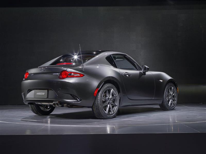 2017 Mazda Mx 5 Miata Rf Launch Edition