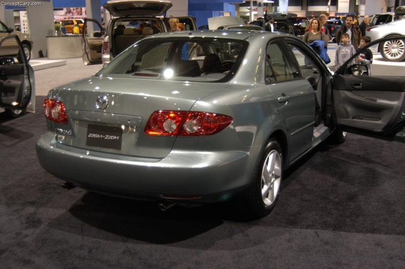 2004 Mazda 6 History, Pictures, Value, Auction Sales, Research and News