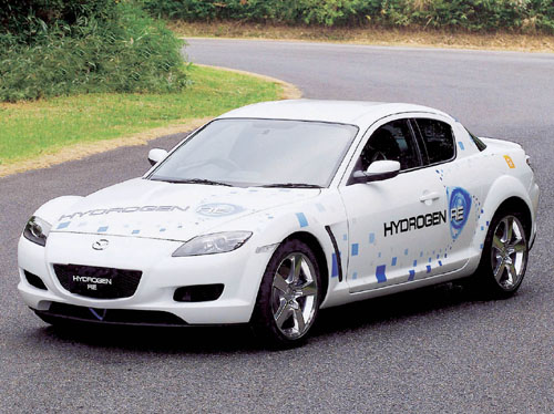 2003 Mazda RX-8 Hydrogen RE pictures and wallpaper