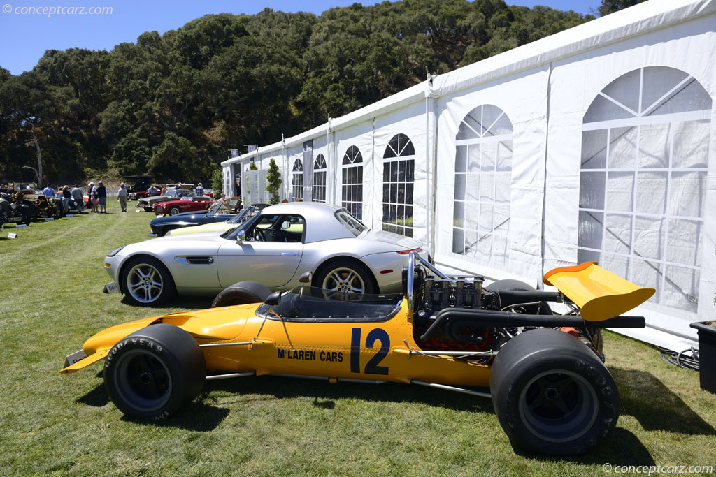 1970 Mclaren M10b Image Chassis Number 400 13