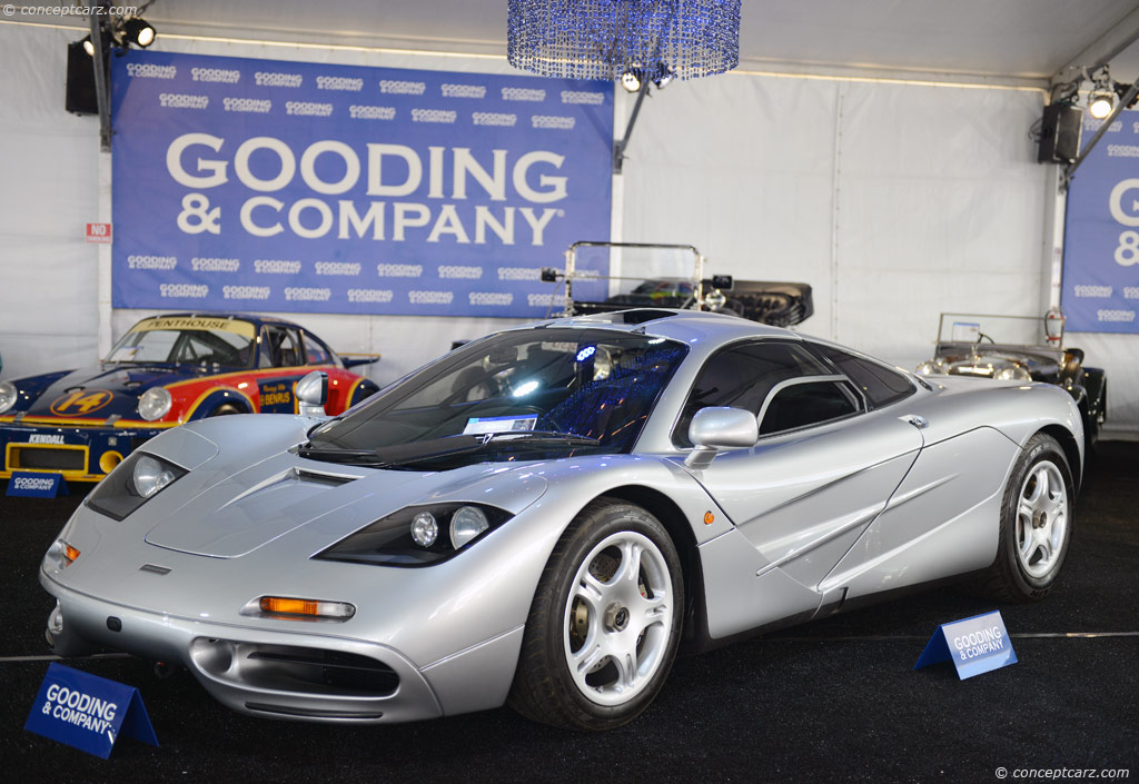 auction results and sales data for 1997 mclaren f1