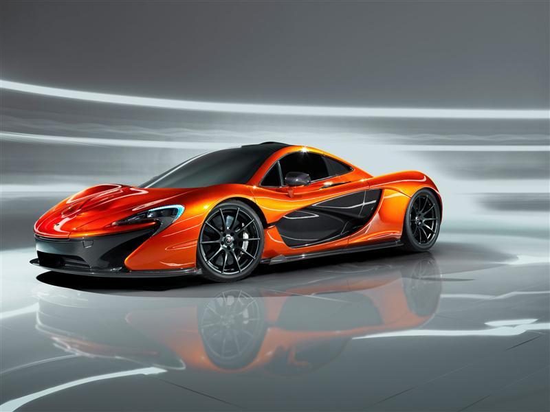 2013 McLaren P1 Concept Image. Photo 10 of 20