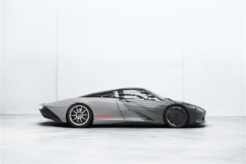 2018 McLaren Speedtail Albert Prototype