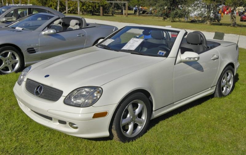 2003 Mercedes Benz Slk