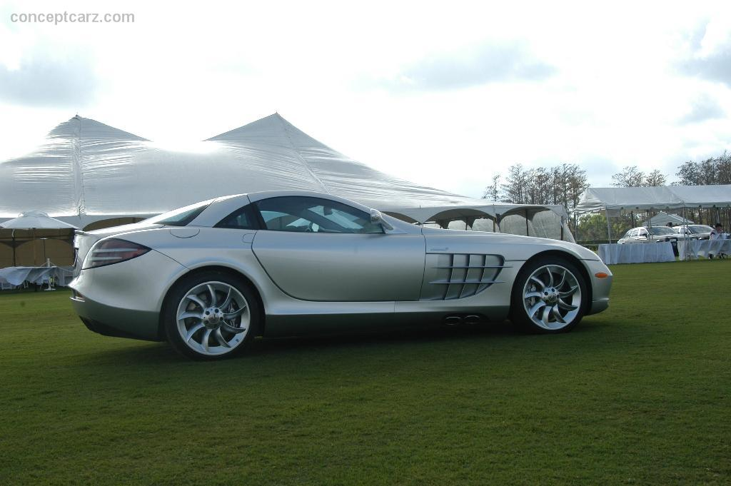 auction results and sales data for 2005 mercedes-benz slr mclaren