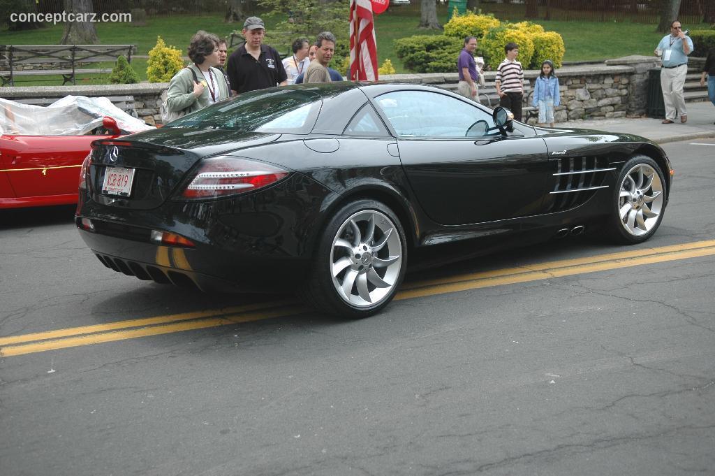 2005 Mercedes Benz Slr Mclaren Image Photo 77 Of 119