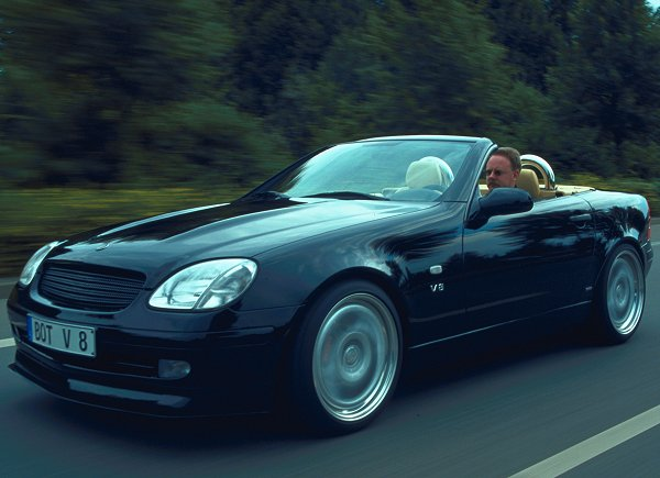 Auction results and sales data for 2002 brabus slk for Mercedes benz slk brabus price