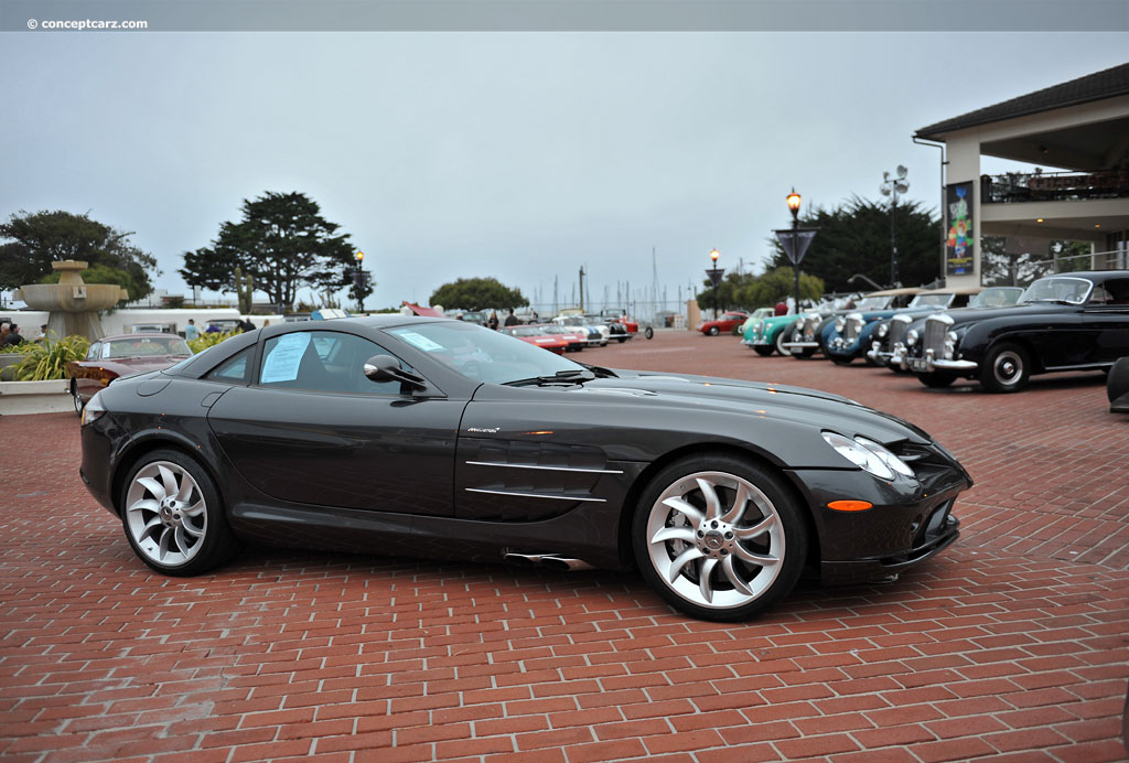 2006 Mercedes Benz Slr Mclaren History Pictures Value Auction Sales Research And News