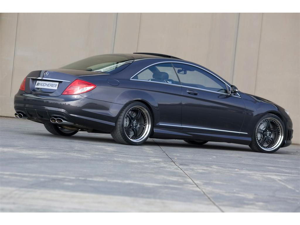 2009 kicherer cl 60 coupe image for Mercedes benz cl coupe