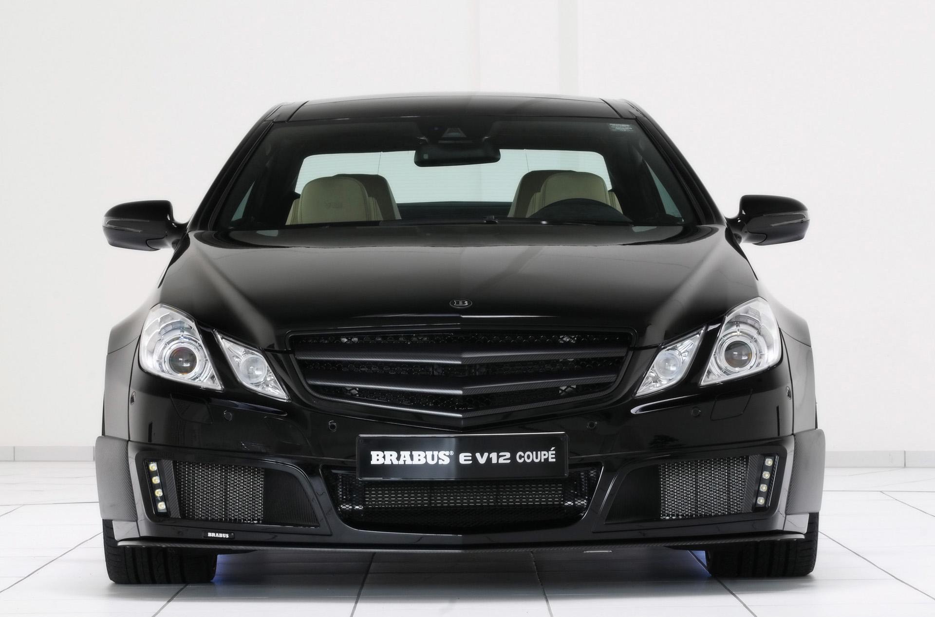 Mercedes Benz Minivan >> 2010 Brabus E V12 Coupe News and Information