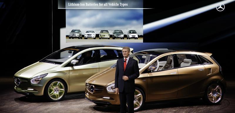 2010 Mercedes-Benz BlueZero E-Cell Plus Concept