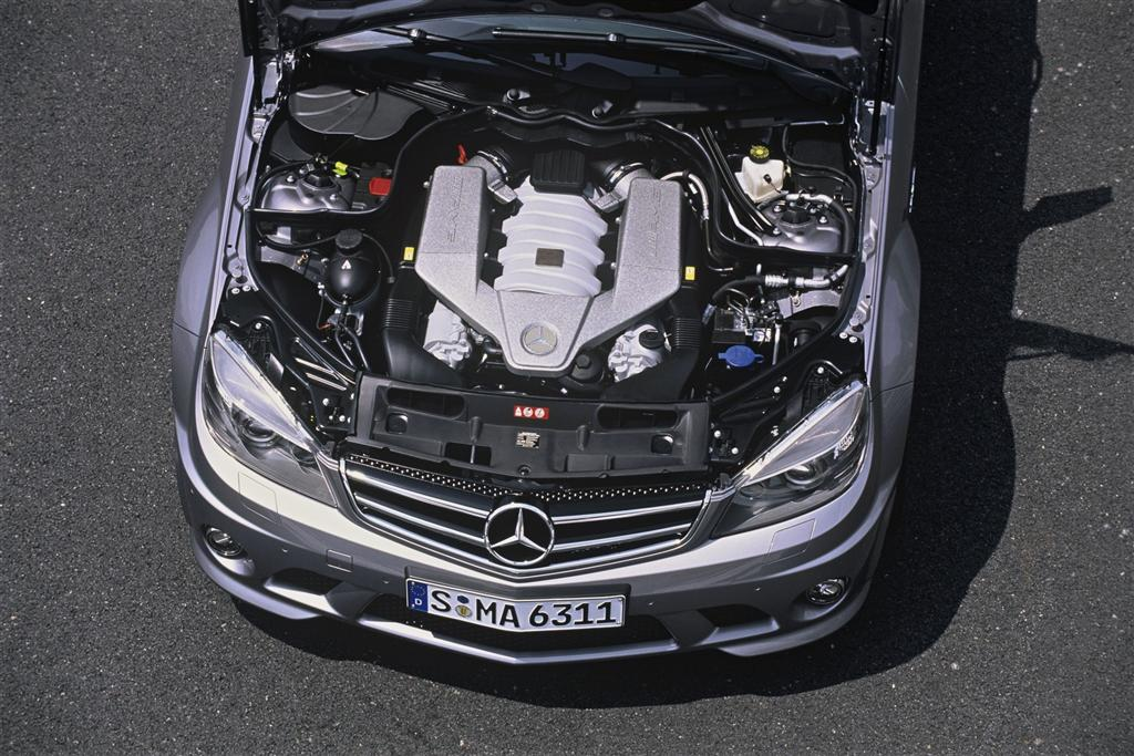2010 mercedes benz c class news and information for Mercedes benz c63 engine