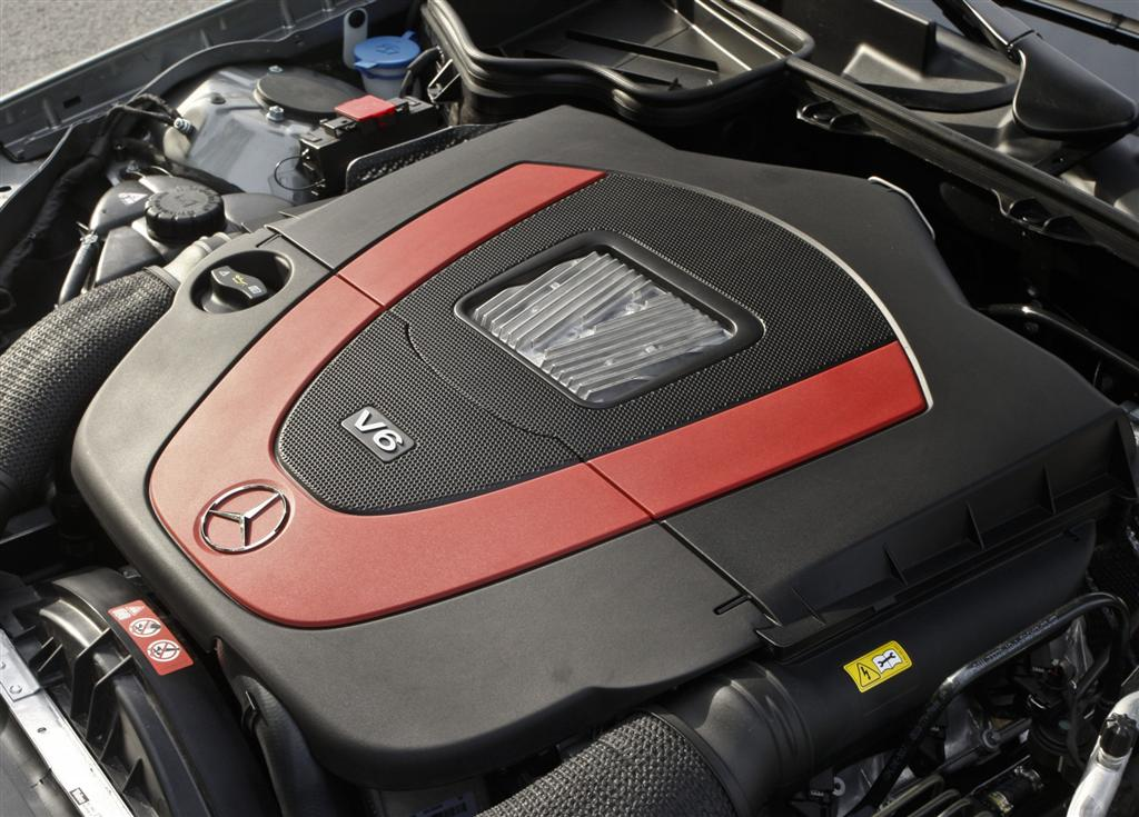 2010 mercedes benz slk class for Mercedes benz 3 2 v6 engine