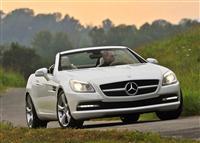 2012 Mercedes-Benz SLK-Class image.