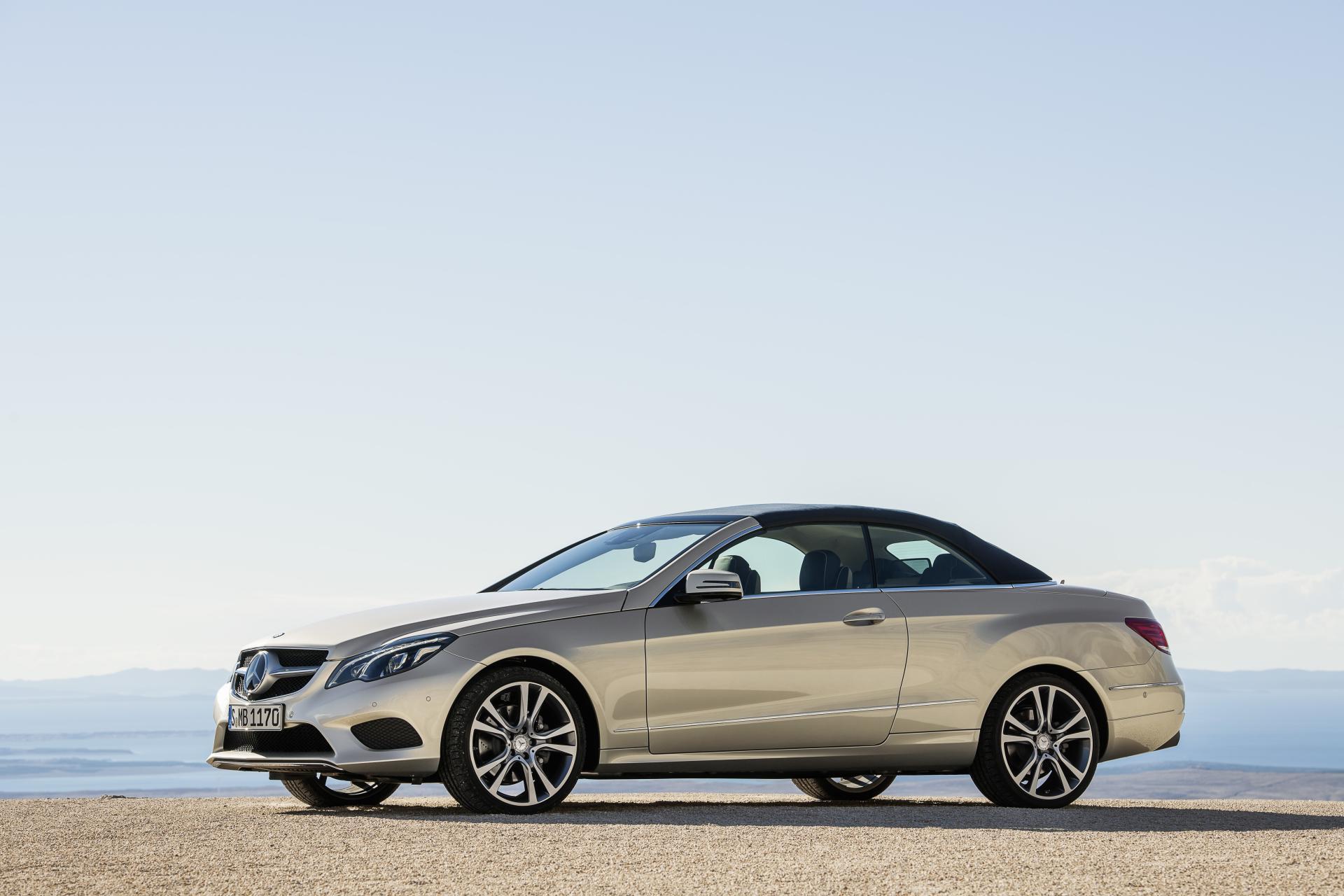 2014 mercedes benz e class cabriolet technical for Mercedes benz e class dimensions