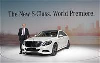 Mercedes-Benz S-Class Monthly Sales