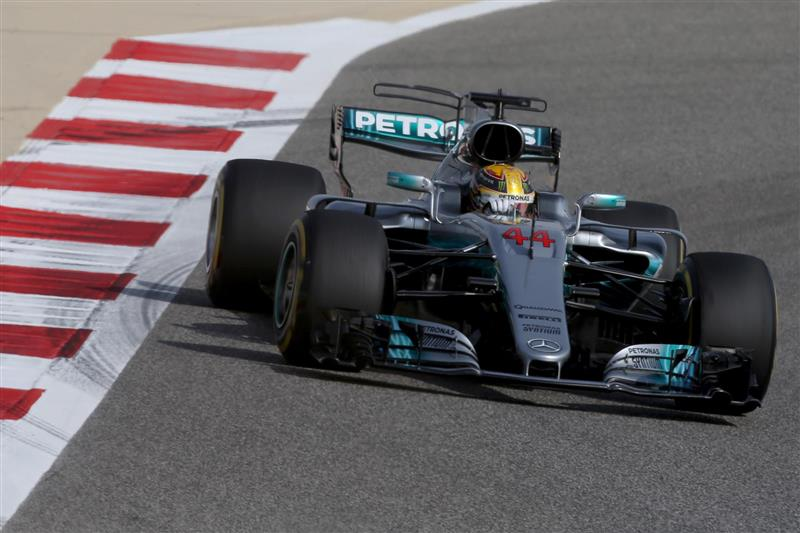 2017 Mercedes-Benz W08 EQ Power