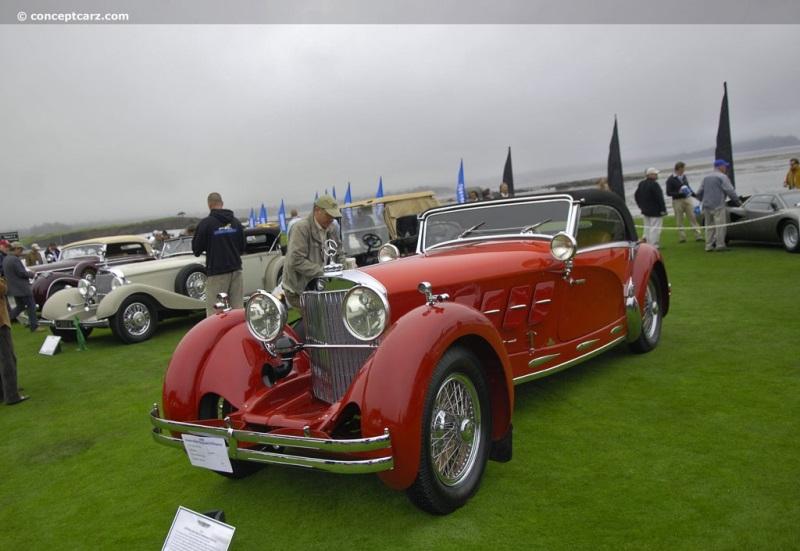 1928 Mercedes-Benz Model S