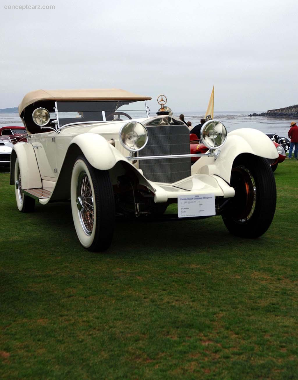1929 mercedes benz model s at the pebble beach concours d for 1929 mercedes benz