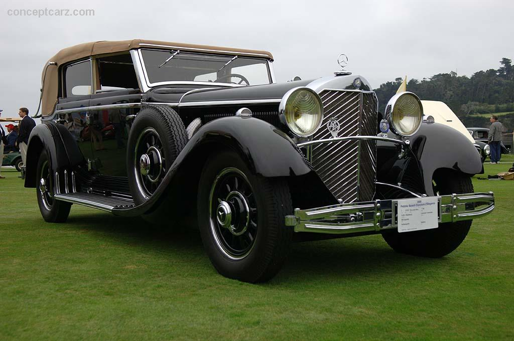 1930 mercedes benz 770k pictures history value research