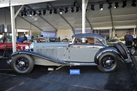 1935 Mercedes-Benz 500K.  Chassis number 105379
