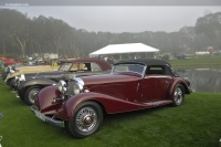 1935 Mercedes-Benz 540K image.