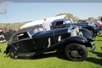 1935 Mercedes-Benz 500K.  Chassis number 105384