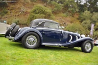 1935 Mercedes-Benz 500K.  Chassis number 113717