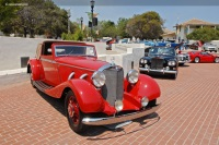 1936 Mercedes-Benz 500K.  Chassis number 113622
