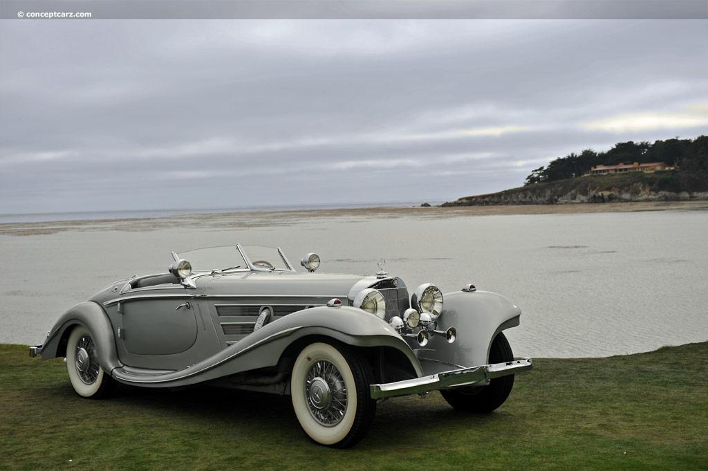 1936 Mercedes Benz 500k Image
