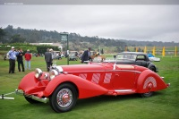 1936 Mercedes-Benz 540K.  Chassis number 154080