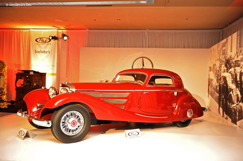 1936 Mercedes Benz 540K Photograph