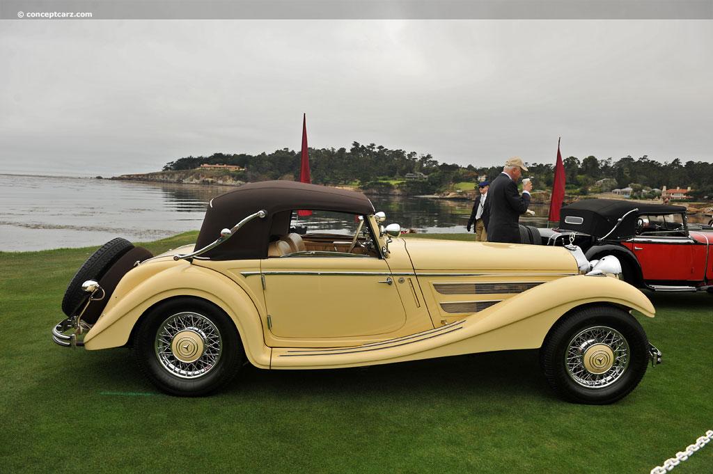 1936 Mercedes-Benz 290K History, Pictures, Value, Auction ...