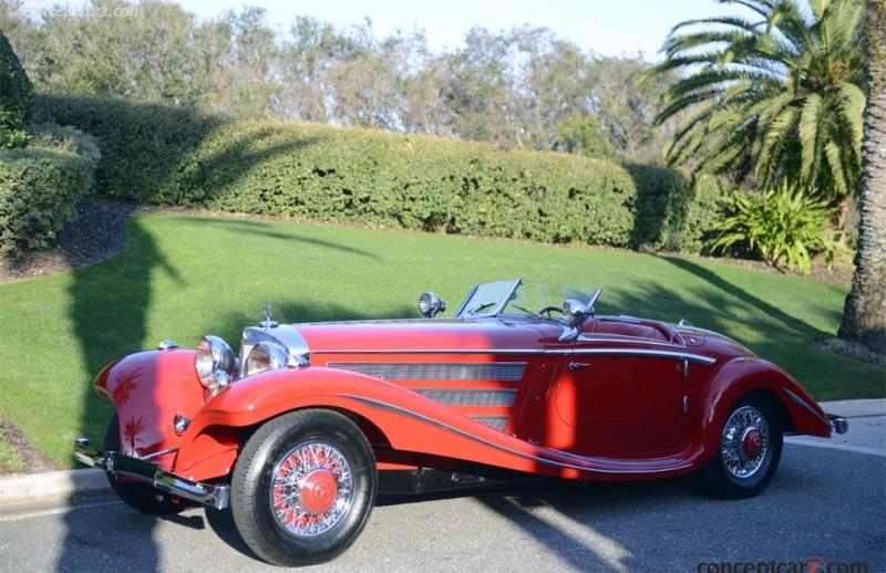 1937 mercedes benz 540k image chassis number 130894 for Mercedes benz 800 number